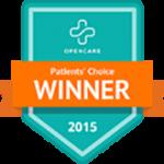Open Care award PCA 2015